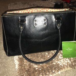 Kate spade black Tote Handbag with dust bag